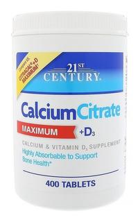 Citrato De Calcio E Vitamina D3 400 Tablets O Melhor Cálcio