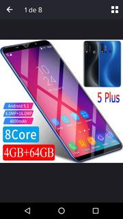 Celular Smartphone Inova 5i 64gb Dual Sim Lindo Moderno