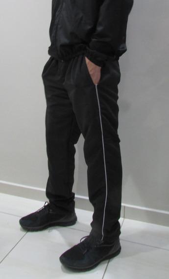 Calça De Tactel Masculina Tecido E Costuras Reforçadas