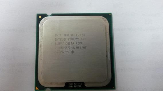 Processador Intel Core 2 Duo E7400 2.8ghz 775p Usado