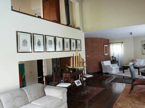 Casa Com 4 Dormitórios À Venda, 360 M² Por R$ 1.800.000,00 - Alphaville Residencial 6 - Santana De Parnaíba/sp - Ca1501