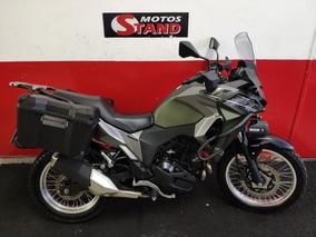 Kawasaki Versys 300x 300 X Tourer Abs 2018 Verde