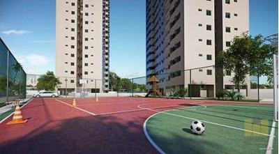 Apartamento Residencial À Venda, Antares, Maceió. - Ap0068