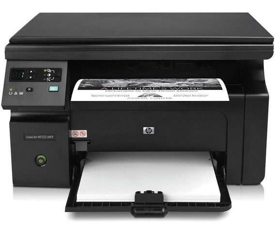 Impressora Hp M1132 Hp 1132 + Pct Papel A4 100 Folhas