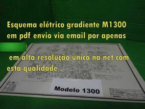 Esquema Gradiente M1300 M 1300 Modelo1300 Modelo 1300 Em Pdf