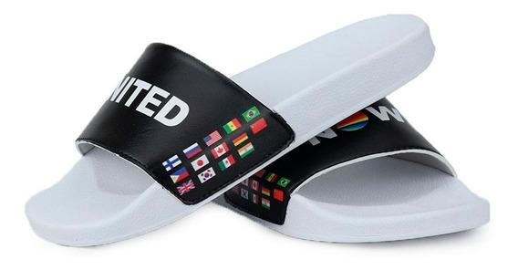 Chinelo Slide La Faire Now United Confortável Unissex
