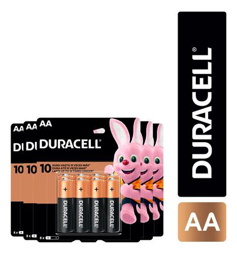 Imagen 1 de 1 de Pack 96 Pilas Alcalina Duracell Tamaño Aa