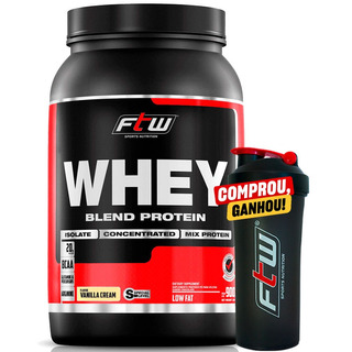 Whey Protein Blend Baunilha Ftw - Mix De Proteínas