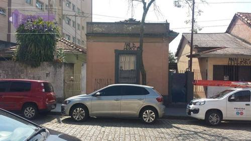 Terreno À Venda, 237 M² Por R$ 500.000,00 - Vila Assunção - Santo André/sp - Te0085
