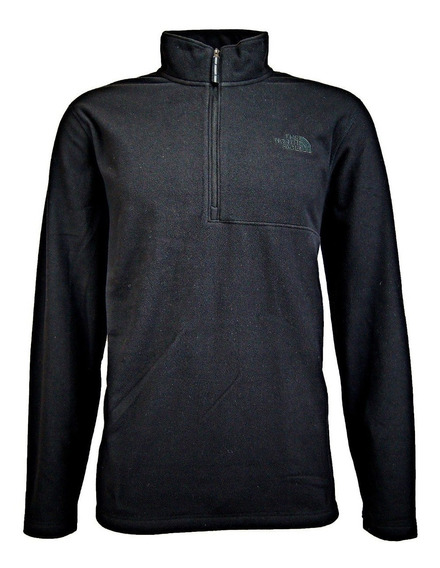 Sudadera The North Face M 100 Glacier Qz- Rto Black
