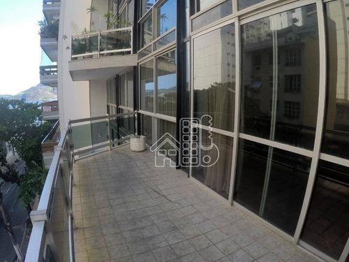 Apartamento Com 4 Dormitórios, 420 M² - Venda Por R$ 1.600.000,00 Ou Aluguel Por R$ 3.500,00/mês - Ingá - Niterói/rj - Ap2450
