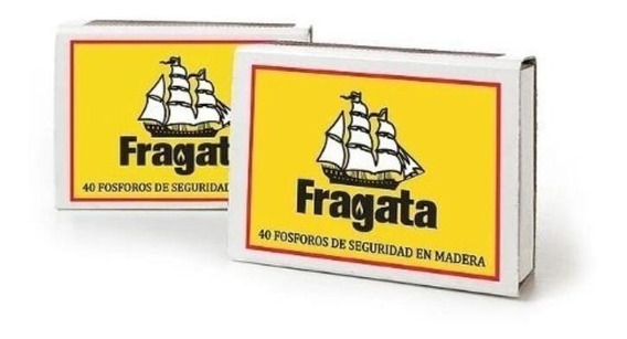 Fósforo Fragata Chico X50
