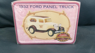 Miniatura Ertl De 1932 Ford Panel Truck Em Escala 1/32