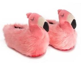 Pantufa Flamingo 3 D Original - Ricsen