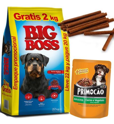 Imagen 1 de 4 de Big Boss Adulto Premium Especial 22 Kg Con Regalo