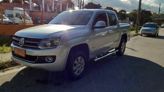 Vw Amarok 2.0 Se Cab. Dupla 4x4 4p 2012! Aceito Troca