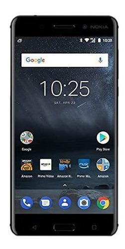 Nokia 6 - 32 Gb - Desbloqueado (at & T /t-mobile) - Negro -