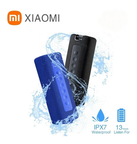 Imagem 1 de 9 de Caixa De Som Xiaomi Bluetooth A Prova Dágua 16 W