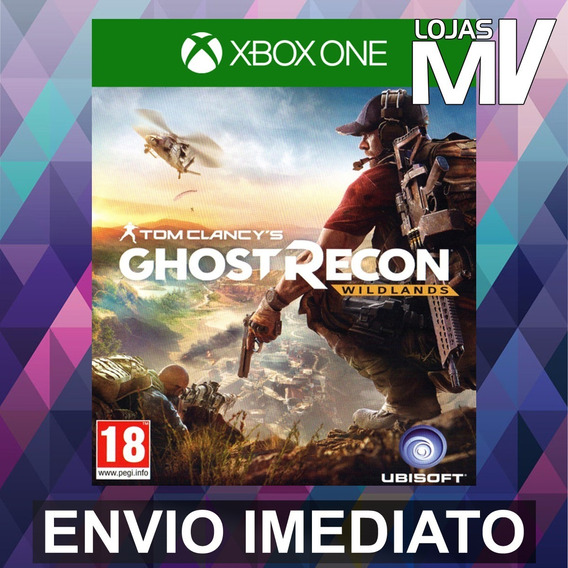 Ghost Recon Wildlands - Código 25 Dígitos - Xbox One