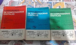 Curso Básico De Computadoras Digitales Volúmen 1, 2 Y 3