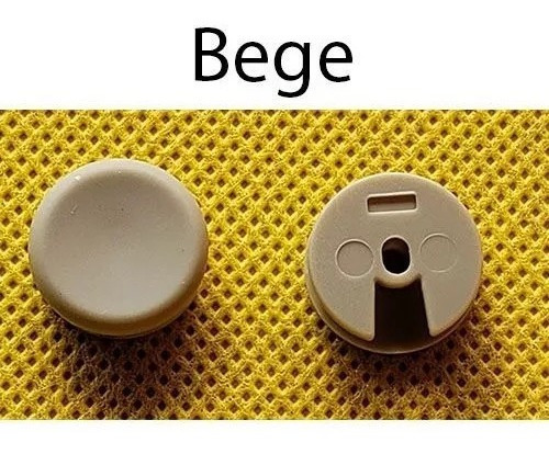 Capa Botão Analógico 3ds Xl - Bege- Circle Pad Frete Gratis