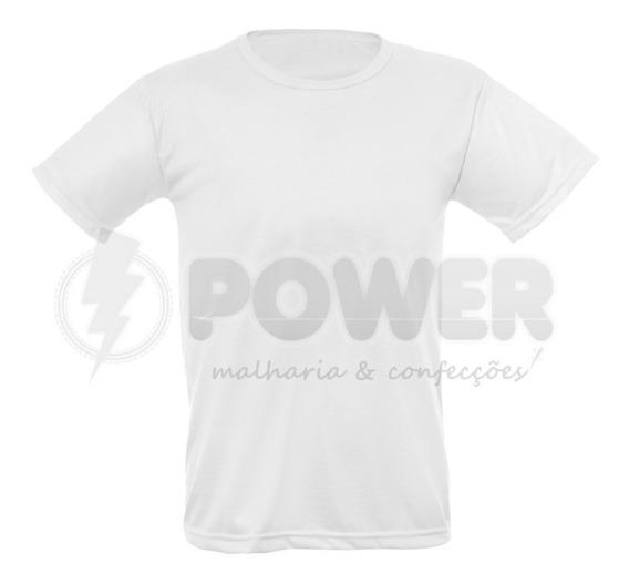 Lote Com 15 Camisas Para Sublimação Brancas