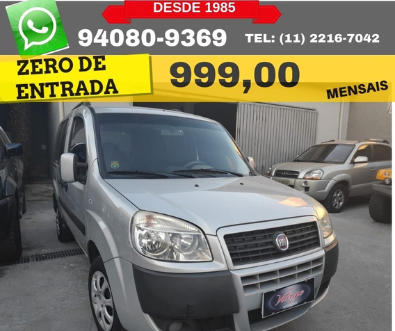 Fiat Doblo 1.8 7l 2017 Zero De Entrada