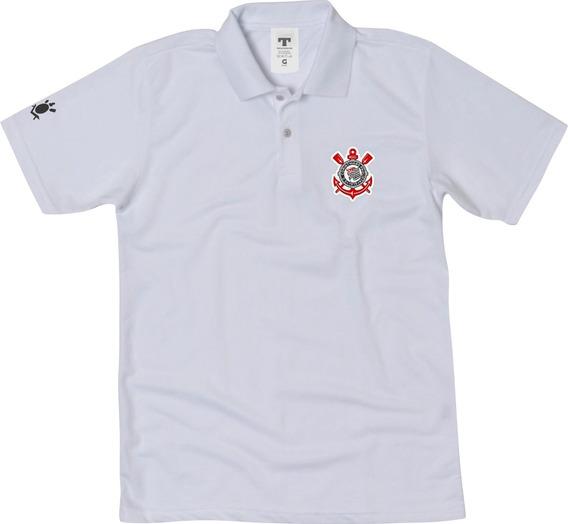 Camisa Do Corinthians Camiseta Polo Timão Blusa Polo Timão