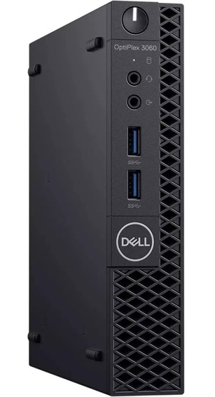 Dell Optiplex 3060 I3 8100t +8 Gb Ddr4+ Ssd 240 Gb Novo