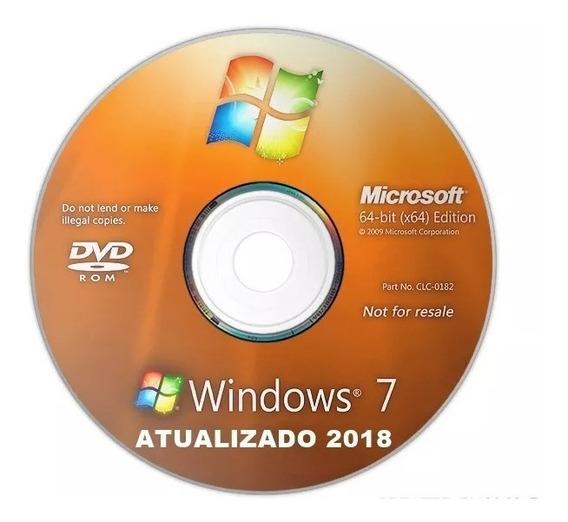 Cd Instalação E Formatação Windows 7 (atualizado 2018)