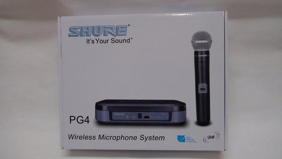 Microfone Shure Pg4 Sm58
