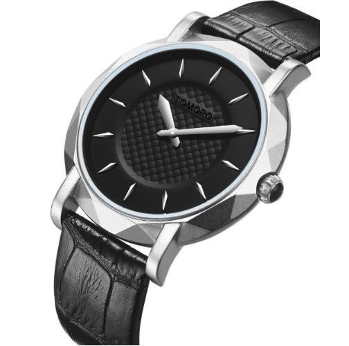 Relógio Preto Masculino Tomoro Analógico Barato Promoção