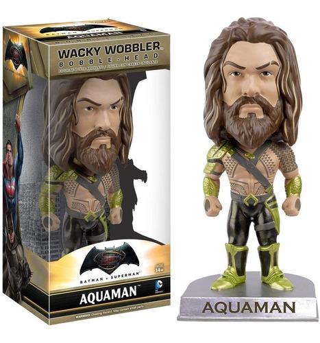 Muñeco Aquaman Funko Wacky Wobbler Batman Superman Cole Rdf1