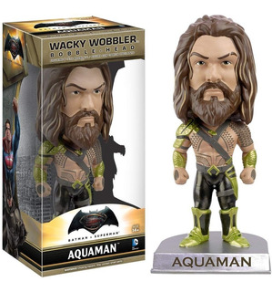 Muñeco Aquaman Funko Wacky Wobbler Batman Superman Cole Rdf1