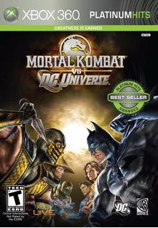 Mortal Kombat Vs Dc Universe Xbox 360 Usado Blakhelmet C