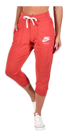 Pantalon Nike Mujer 883723657 Rojo