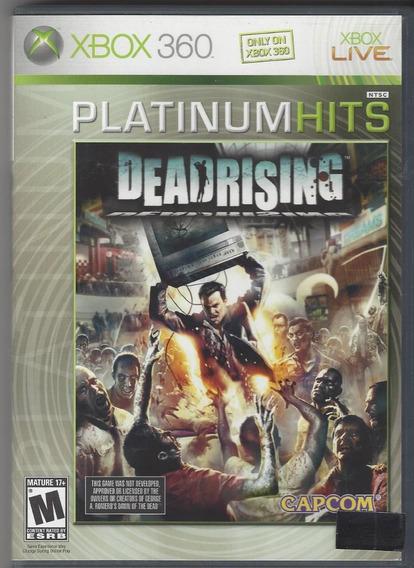 Dead Rising Xbox 360 Jogo Original Completo Mídia Física