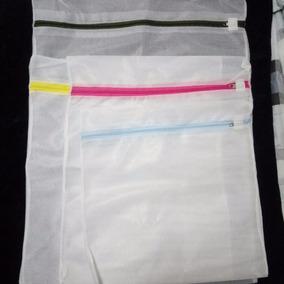 Sacolinha Para Limpeza De Roupa Delicada - 4 Unid. Variadas