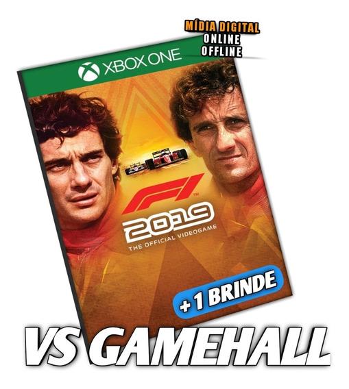 F1 2019 Legends Ed. Senna & Prost Xbox One Digital + Brinde