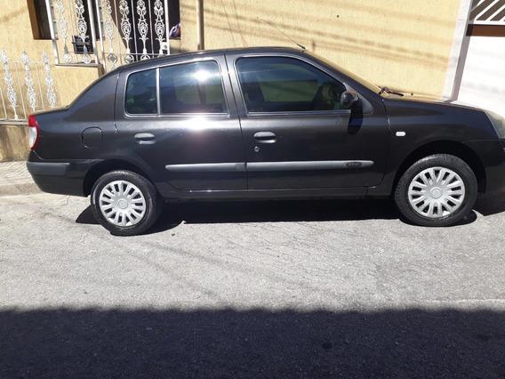 Renault Clio - Sedan 1.6 - Preto - Hi Flex - 2005/2006 -