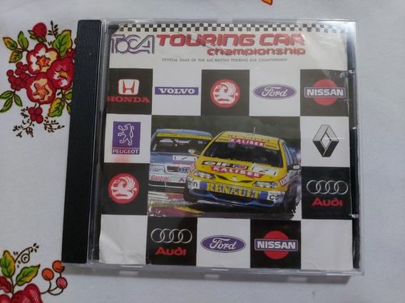 Toca Touring Car Championship Ps1 Patch Prensado Prateado D1