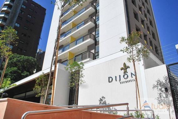 Apartamento Com 1 Dormitório À Venda, 57 M² - Cambuí - Campinas/sp - Ap6363