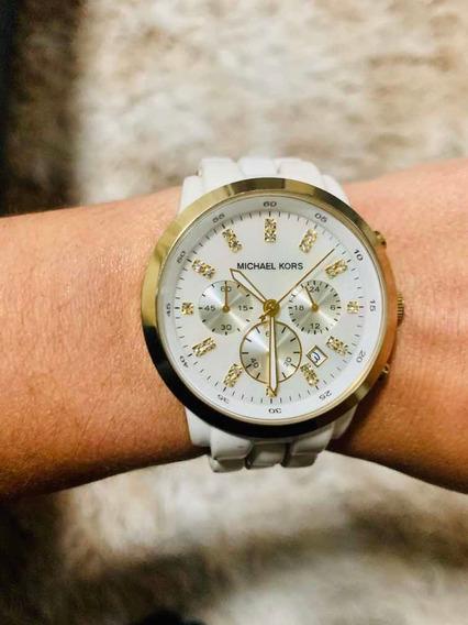 Relógio Feminino Michael Kors Branco