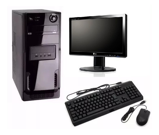 Cpu Pc Intel Core I3 2ªg+4gb+monitor 19,5 +brinde! Promoção!