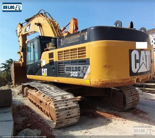 Escavadeira Caterpillar 345dl Me Ref.187189