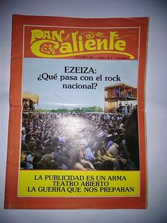 Revista Pan Caliente No.5 Octubre 1981 Pistocchi Expreso