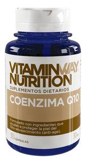 Coenzima Q10 Vitamin Way Por 3 Frascos De 30 Capsulas