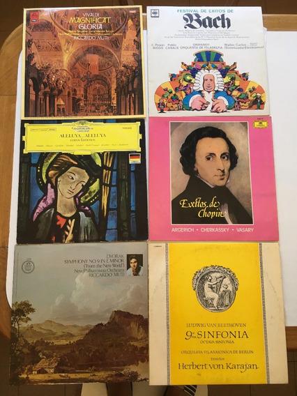 Discos De Vinilo Música Clásica Sellos De Calidad.impecables