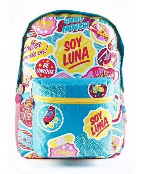 Mochila Soy Luna 17 Espalda Original