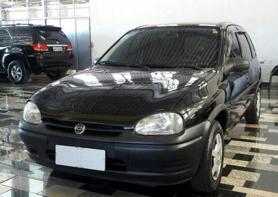 Chevrolet Corsa Wind 1.0 Mpfi Gasolina 4p Manual 1999 Preto